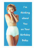 Happy Birthday  Lady in Underpants