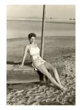World War II Bathing Beauty