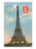 Merci  Eiffel Tower