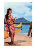 Hula Girl by Outrigger  Hawaii
