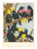 Ravens Socializing