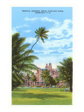 Royal Hawaiian Hotel  Honolulu  Hawaii