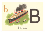B is for Boats