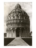 Baptistry  Pisa  Italy