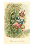 Cat as Jack and the Beanstalk