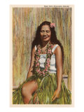 Hula Girl  Hawaii