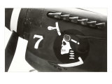 Nose Art  Skull with Goggles