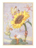 Fairies with Sunflower