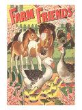 Farm Friends  Geese  Horses