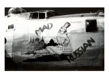 Nose Art  Mad Russian  Pin-Up