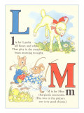 L is for Lambs M is for Mice