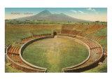 Amphitheatre  Pompeii  Italy