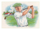 Smiling Golfer