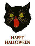 Happy Halloween  Black Cat