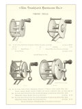 Advertisement for Four Fishing Reels