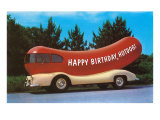 Happy Birthday Hotdog  Wienermobile