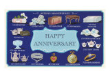 Happy Anniversary  Traditional Gifts