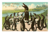 Happy Birthday  Alligator Chorus