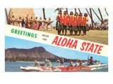 Greetings from the Aloha State