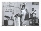 Birthday Shimmy Dancer