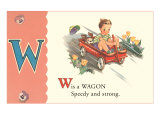 W is a Wagon