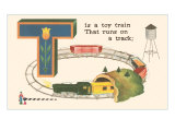 T is a Toy Train