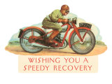 Wishing You a Speedy Recovery  Motorcycle Racer