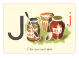 J is for Jam and Jelly