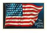 The Glorious Fourth of July  Flag