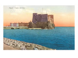 Castel dell'Ovo  Naples  Italy