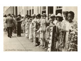 Lei Vendors  Honolulu  Hawaii