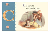 C is for Cat and also for Cow