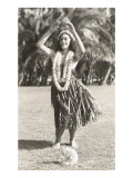 Girl Doing Hula  Hawaii