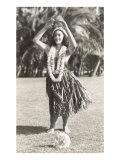 Girl Doing Hula  Hawaii