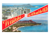 Waikiki  Old and New  Hawaii