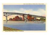 Cedar Street Bridge  Peoria  Illinois