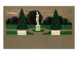 Deco park with Venus de Milo