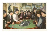Men at Gambling Table