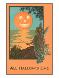 All Hallow&#39;s Eve  Fairy and Jack O&#39;Lantern
