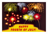 Happy Fourth of July  Fireworks