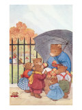 Bear Family at the Park