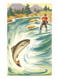Trout Fishing in the Rapids