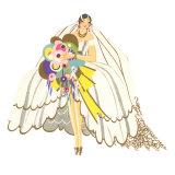 Avant-Garde Wedding Gown