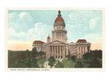 State Capitol  Springfield  Illinois