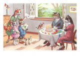 Cat's Birthday Party