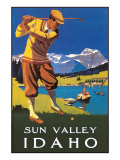 Sun Valley  Idaho  Golfing in Mountains
