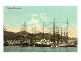 Tall Ships  Honolulu Harbor  Hawaii