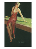 Two Cushion  Vamp Playing Pool
