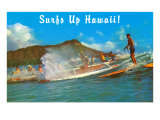 Surf's Up Hawaii  Diamond Head