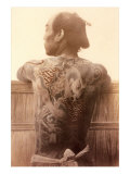 Yakuza with Tattooed Back